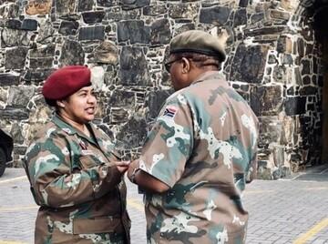 مجوز حجاب برای افسر ارشد مسلمان در آفریقای جنوبی صادر شد