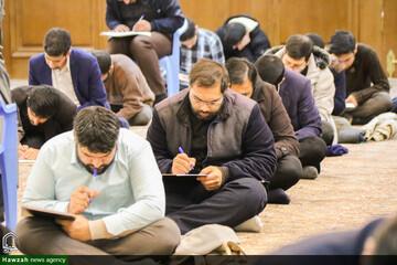تصاویر/ امتحانات پایانی نیمسال اول حوزه علمیه اصفهان