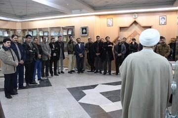 تصاویر/ بازدید اعضای بسیج رسانه خراسان از مرکز تحقیقات کامپیوتری علوم اسلامی