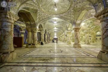 بمساحة 62 ألف متر مربع...صحن فاطمة الزهراء (ع) يشهد مراحل انجاز متقدمة + صور