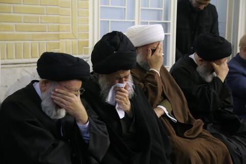 مجلس ترحیم مرحوم آیت الله سیدمحمدرضا میبدی(ره) از سوی حضرت آیت الله علوی گرگانی