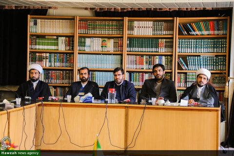 نشست مدیران مدارس علمیه حوزه علمیه اصفهان