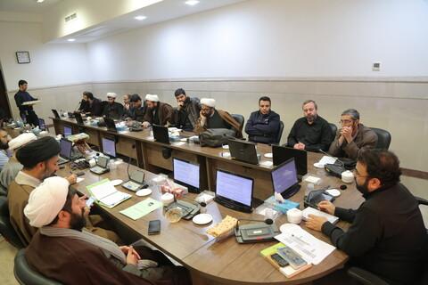 تصاویر / نشست سیاسی طلاب در مرکز مدیریت حوزه های علمیه
