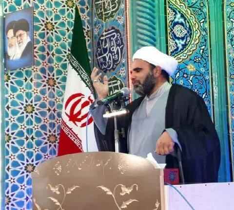 حجت الاسلام علی محمد لروند امام جمعه کنگاور