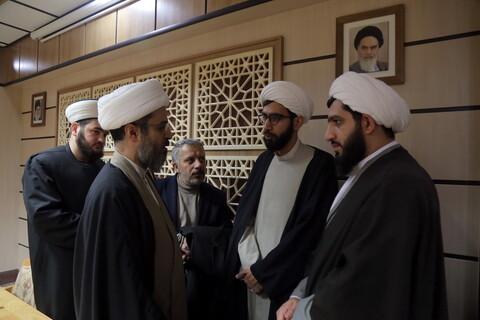 تصاویر/ دیدار جوانان شیعه و اهل سنت ترکیه با شیخ معین الدقیق نماینده حزب الله لبنان در ایران
