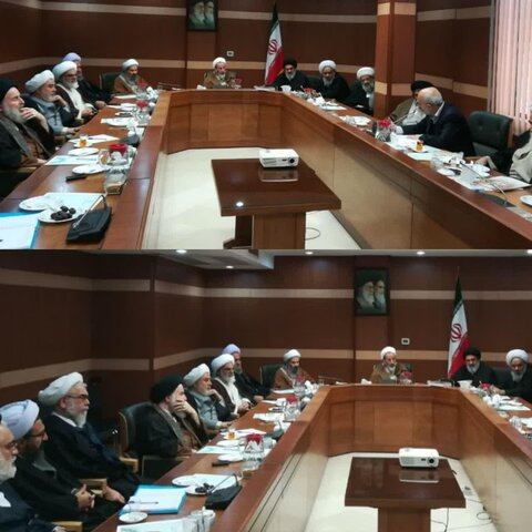 جلسه کمیسیون سیاسی، اجتماعی و فرهنگی مجلس خبرگان رهبری