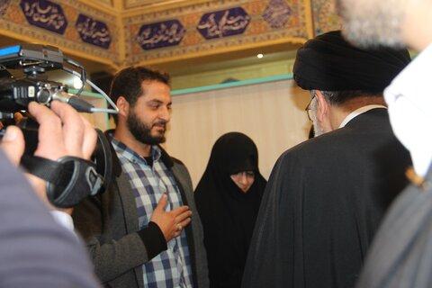دیدار رئیس قوه قضائیه با خانواده شهدا و برگزیدگان یزد