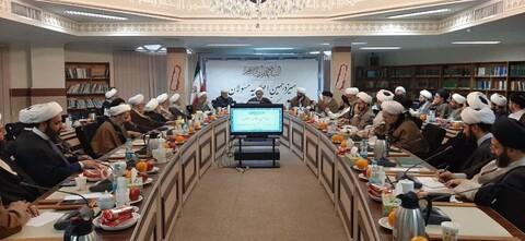تصاویر/ سیزدهمین اجلاسیه مسئولان مدارس و مراکز تخصصی حوزه علمیه تهران