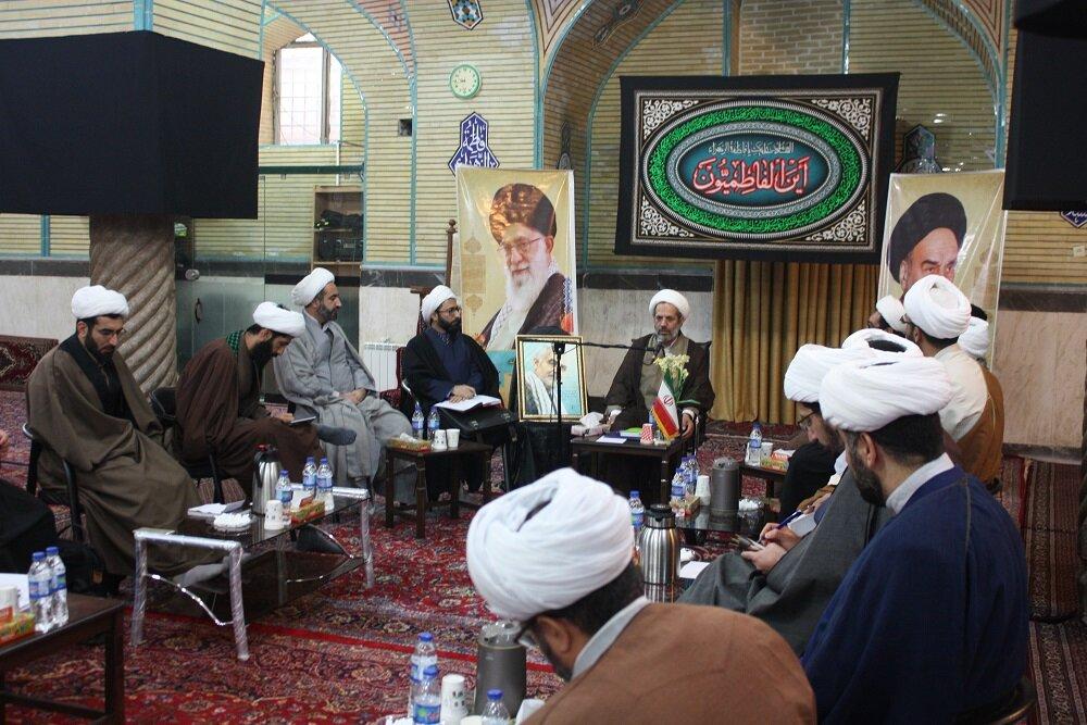 تصاویر/ جلسه مدیران مدارس علمیه استان کرمانشاه