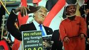 بالصور/ مشاهد من التظاهرات المناهضة للوجود الأميركي في العراق (۲)