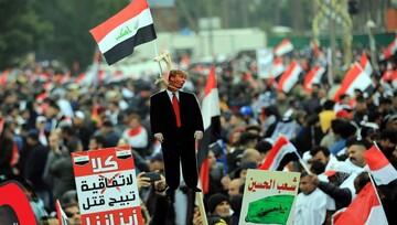 ملت عراق بر مخالفت قاطع خود با اشغالگری آمریکا در کشور تأکید کرد
