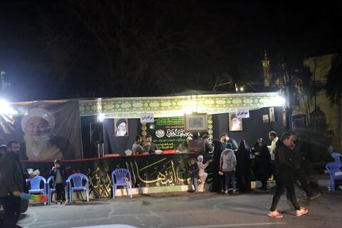 تصاویر / ایستگاه صلواتی به مناسبت شهادت حضرت زهرا (س) بياد مرحوم آيت الله شاه آبادى