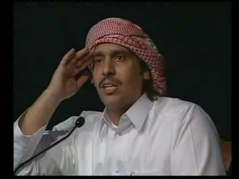 محمد بن الذیب شاعر معروف قطری