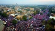 مشاهد وصور من تظاهرات العراق الرافضة لوجود الاحتلال الاميركي(۳)
