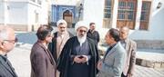 بازدید امام جمعه بوشهر از روند تعمیرات خانه شیخ حسن آل عصفور