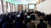 تصاویر/ مراسم عزاداری شهادت حضرت فاطمه زهرا (س) در مدرسه علمیه طالبیه