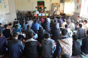 تصاویر/ همایش دانش آموزی فاطمیون در شهرستان خوی