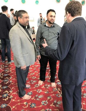مراسم افتتاحیه مسجد جدید در میدل تاون، کنتیکت برگزار شد + تصاویر