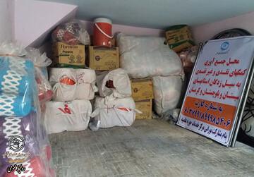 ارسال کمکهای غیر نقدی حوزویان لرستان به مناطق سیلزده