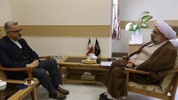 دیدار سفیر جدید ایران در موریتانی با رئیس جامعةالمصطفی