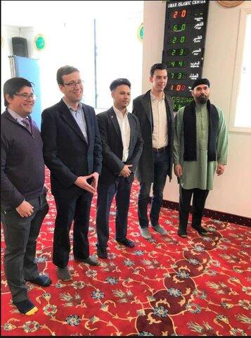مراسم افتتاحیه مسجد جدید در میدل تاون، کنتیکت برگزار شد