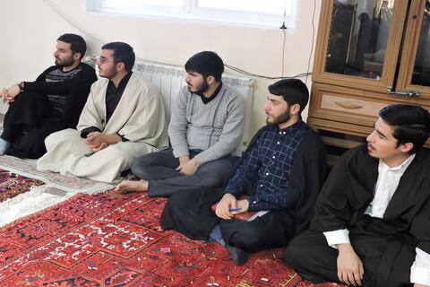 جلسه درس اخلاق در مدرسه علمیه ولیعصر(عج) تبریز