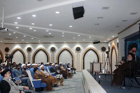 عکس خبری/ مراسم بزرگداشت استاد پیشکسوت حوزه علمیه اهواز