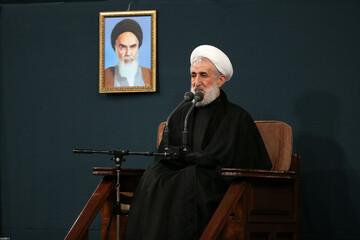 صوت| سخنرانی حجت الاسلام والمسلمین صدیقی در حضور رهبر انقلاب
