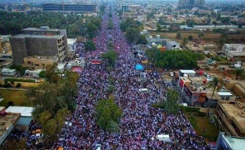 راهپیمایی عراق