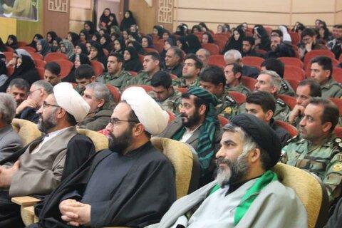 تصاویر/ برگزاری همایش «لثارت» با محوریت نقش سردار قاسم سلیمانی در امنیت منطقه در سنندج