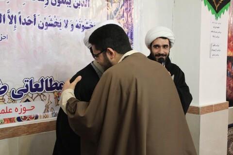 تصاویر/ نشست طرح مطالعاتی آثار شهید مطهری و تجلیل از نفرات برگزیده در مدرسه علمیه امام خمینی (ره) خوی