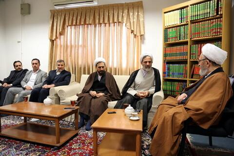 دیدار رئیس سازمان بازرسی کل کشور با آیت الله العظمی سبحانی