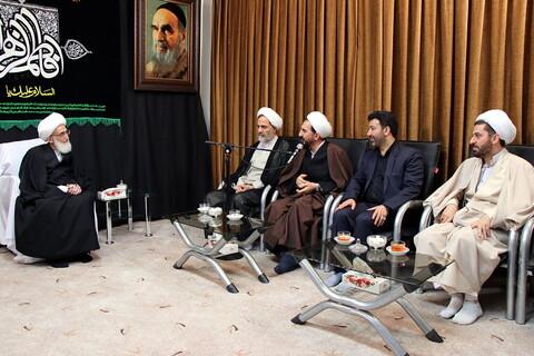 دیدار رئیس سازمان بازرسی کل کشور با آیت الله العظمی نوری همدانی