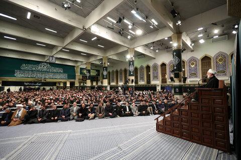 تصاویر/ اولین شب مراسم عزاداری حضرت فاطمهزهرا سلاماللهعلیها در حسینیه امام خمینی(ره)
