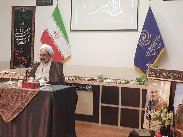 ایمان به کار و سعه صدر از ابزار مدیریت اسلامی است