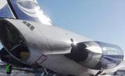 فیلم/ خروج هواپیمای کاسپین از باند فرودگاه ماهشهر
