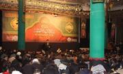 تصاویر/ مراسم عزاداری ایام فاطمیه طلاب اردو زبان مقیم قم