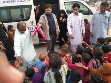 حوزویان پیشگامان خدمت در مناطق سیلزده سیستان / ضرورت از بین بردن فقر فرهنگی در مناطق محروم