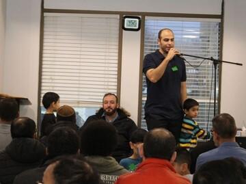 مراسم روز درهای باز مسجد فورت مک موری کانادا + تصاویر