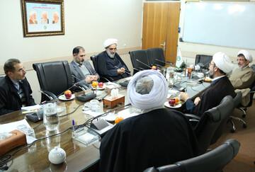 برگزاری جلسه کارگروه بین الملل در مجمع عالی حکمت اسلامی