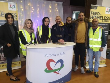 Muslim charity provides 'support and company' in Worcester