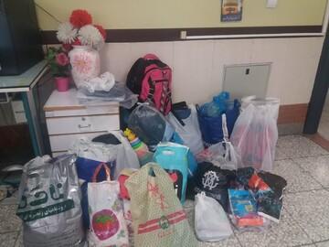 کمک دانش آموزان تهرانی به سیل زدگان سیستان و بلوچستان+ عکس