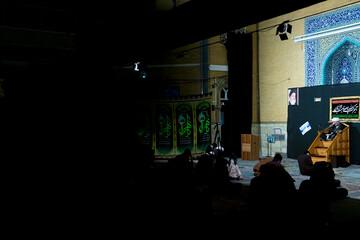 تصاویر/ مراسم عزاداری ایام فاطمیه در مدرسه علمیه معصومیه