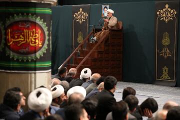 صوت| سخنرانی حجت الاسلام والمسلمین رفیعی در حضور رهبر انقلاب
