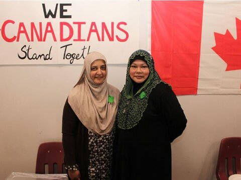 مراسم روز درهای باز مسجد فورت مک موری + تصاویر