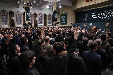 اولین شب مراسم عزاداری حضرت فاطمهزهرا سلاماللهعلیها در حسینیه امام خمینی(ره)