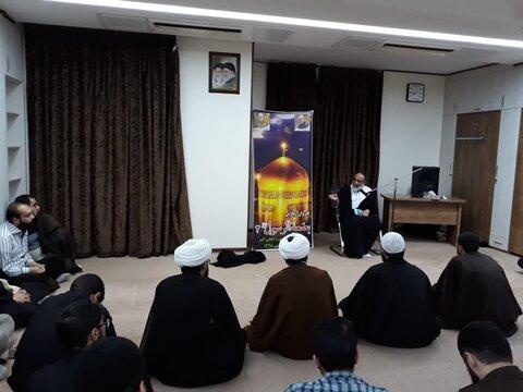 تصاویر/ اردوی زیارتی مشهد مقدس طلاب مدرسه علمیه مهدوی و شهید باهنر تهران