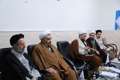 تصاویر / جلسه مدیران مدارس علوم دینی تبریز با نماینده ولی فقیه در استان آذربایجان شرقی