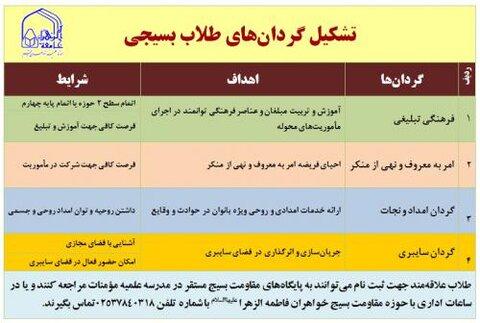 فراخوان عضویت در بسیج