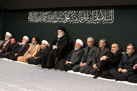 دومین شب مراسم عزاداری در حسینیه امام خمینی